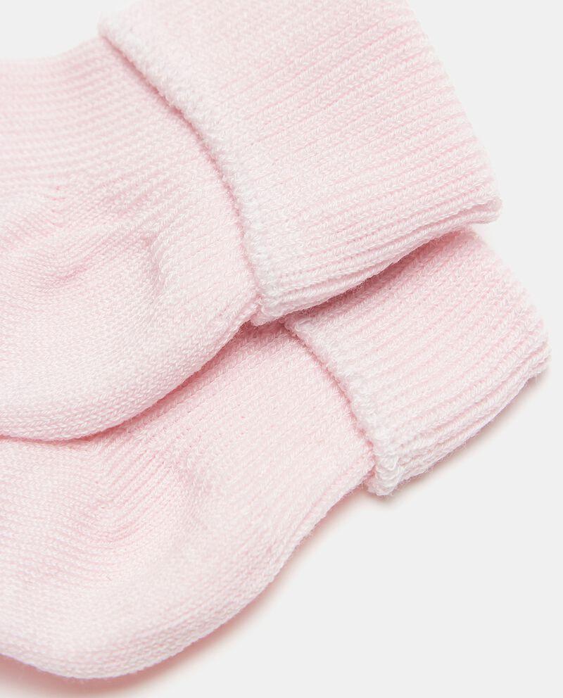 Bipack calzini tinta unita di puro cotone single tile 1