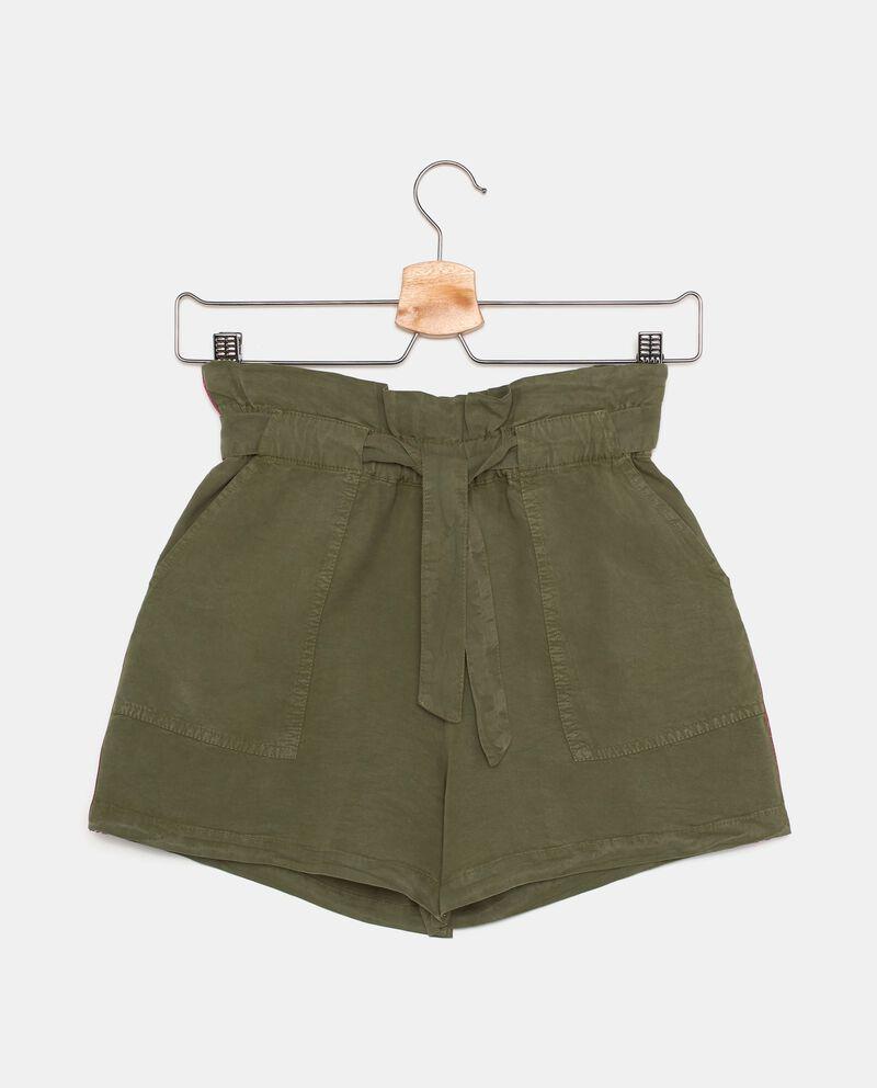 Shorts in tinta unita ragazza