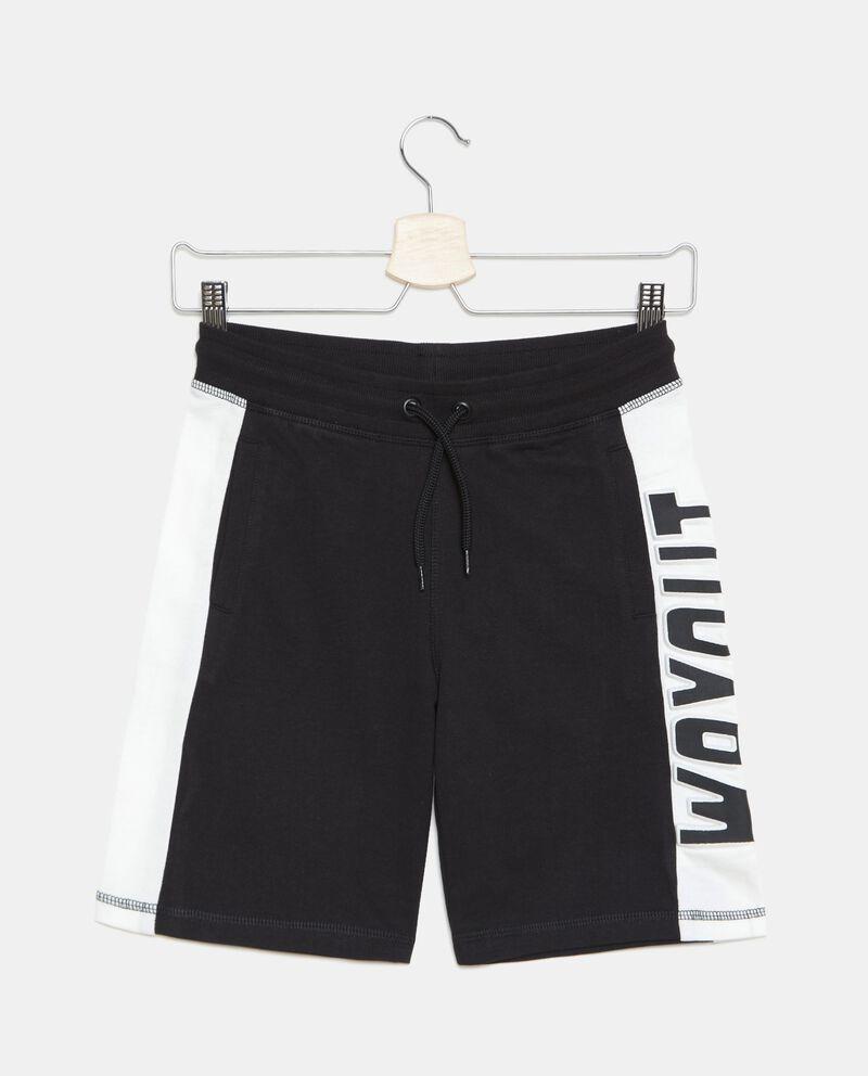 Shorts di felpa in cotone organico ragazzo