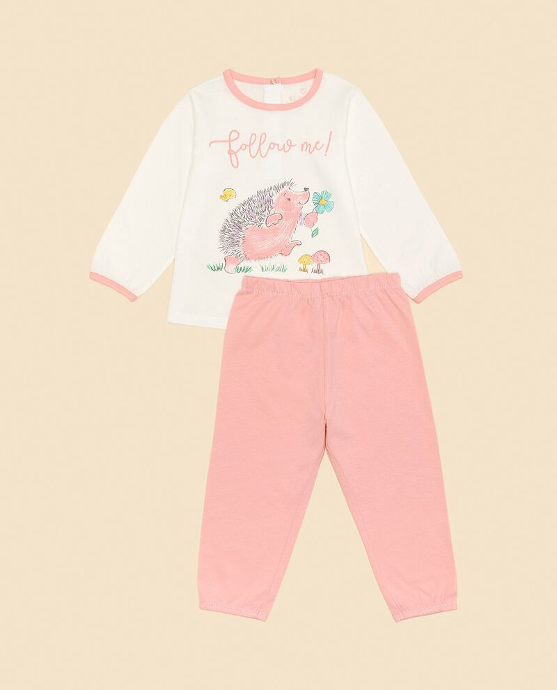 Set pigiama puro cotone neonata