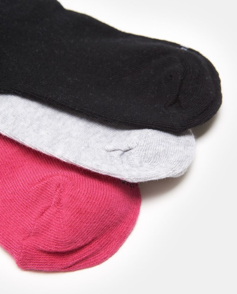 Set tre calze in misto cotone