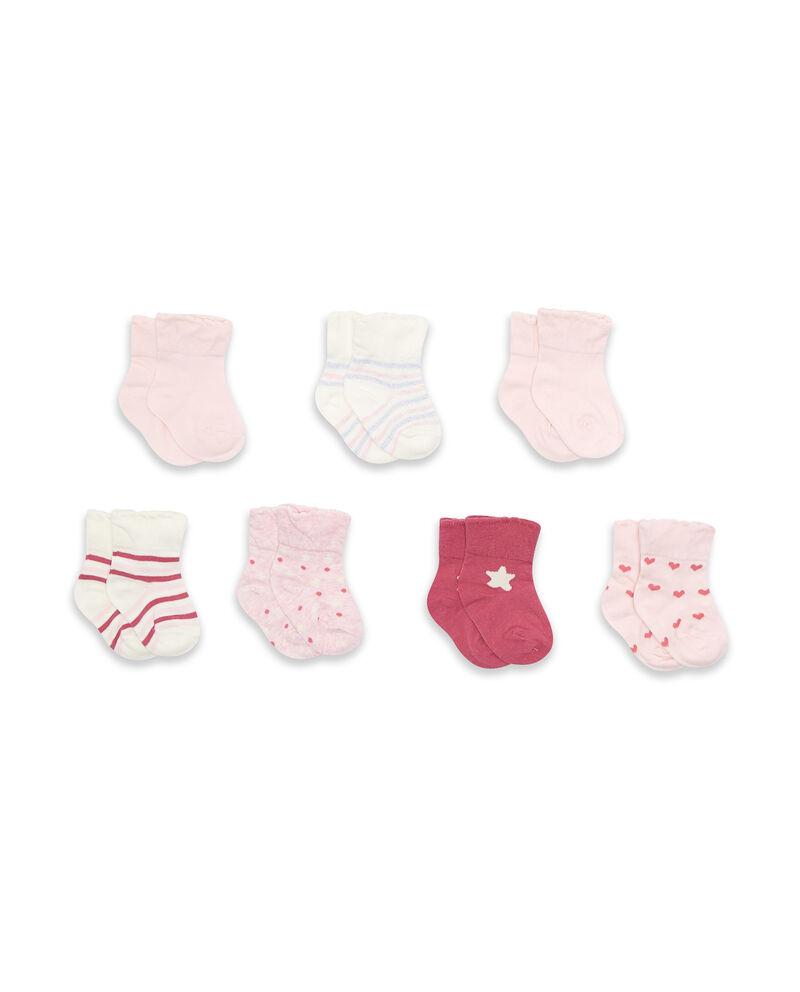 Set sette paia di calze stretch