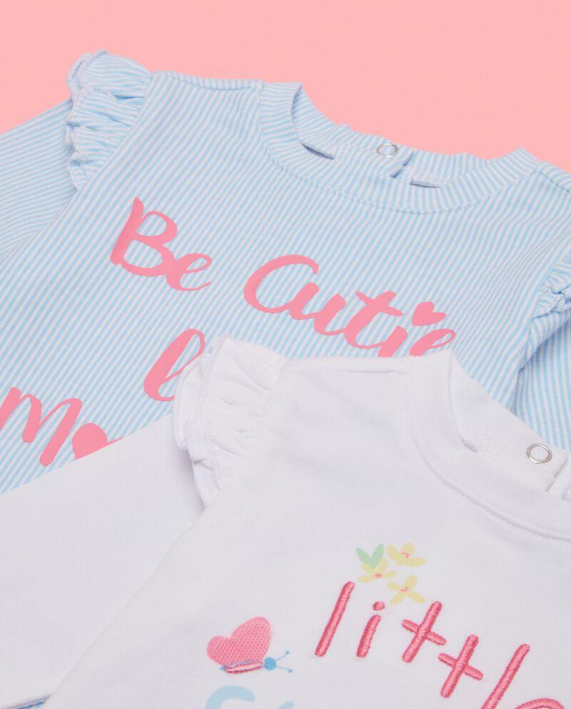 Bipack magliette neonata