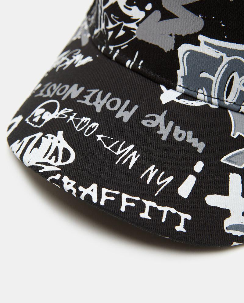 Cappello con frontino con stampa in cotone bambino