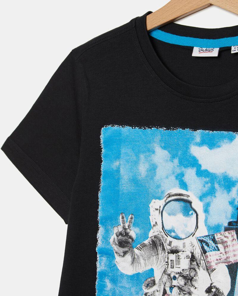 T-shirt puro cotone stampata ragazzo