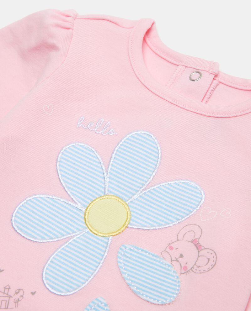 Maglietta a maniche lunghe neonata