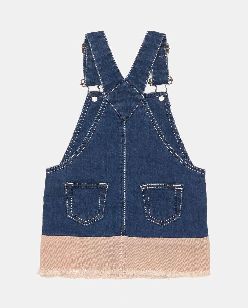 Vestitino a salopette di jeans