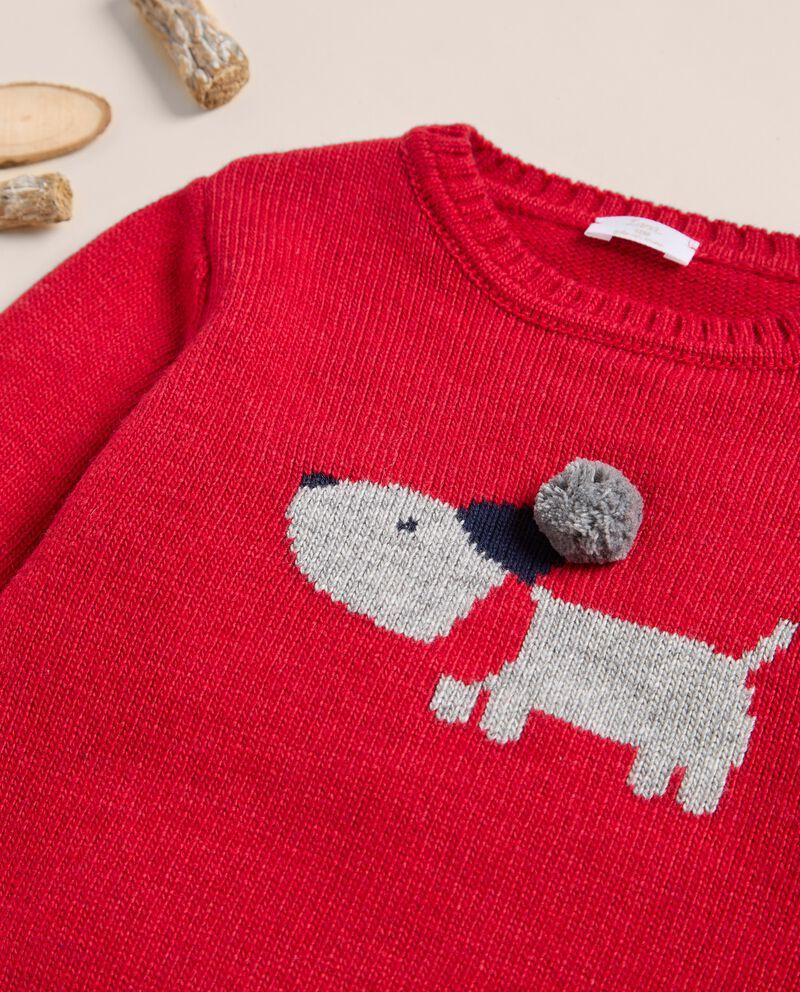 Maglioncino in misto lana merino e cashmere IANA single tile 1