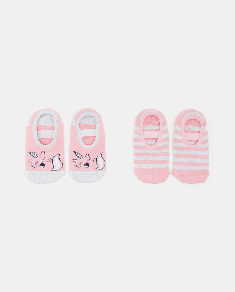 Set calzini con antiscivolo bambina