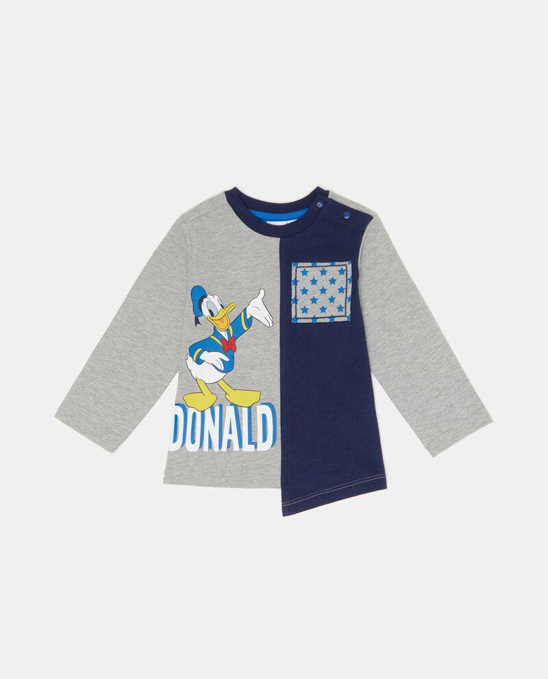 T-shirt doppio colore Paperino neonato