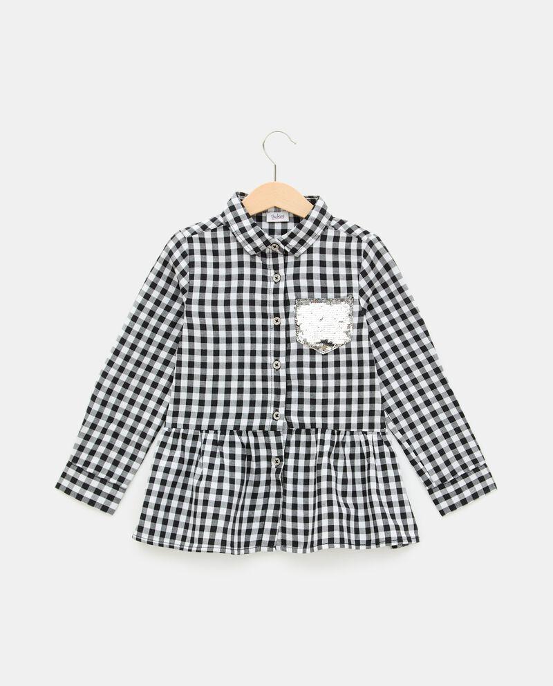 Camicia a quadretti in puro cotone bambina cover