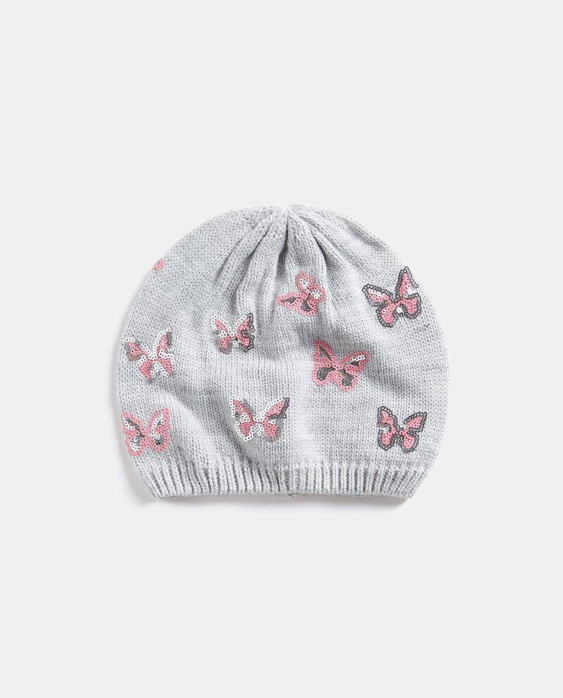 Cappellino con farfalle in paillettes
