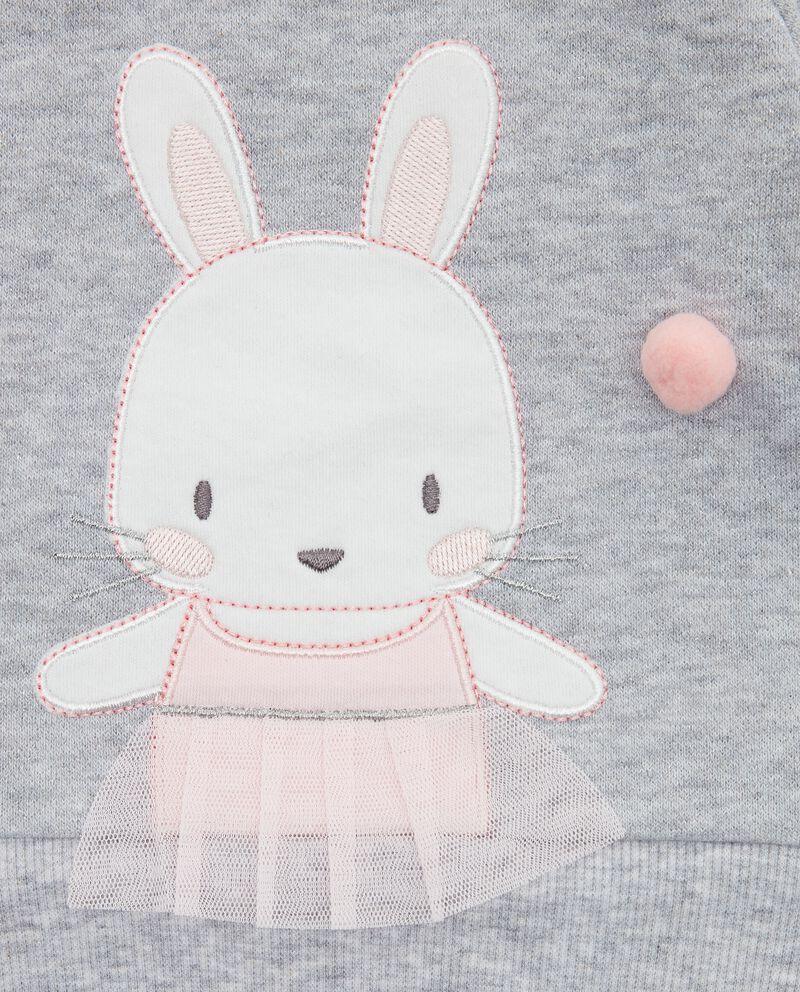 Felpa con stampa neonata