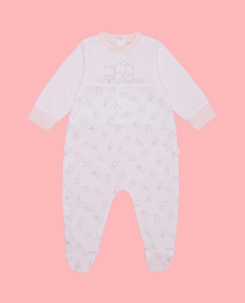 Tutina in puro cotone neonata coniglietti