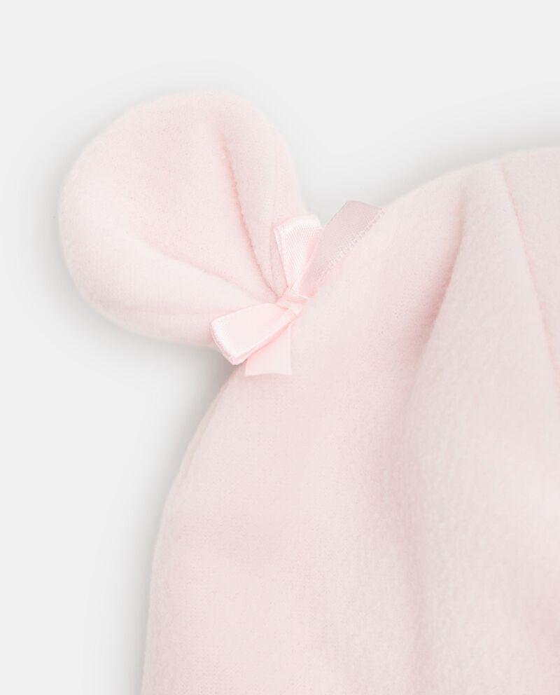 Cappellino in pile a forma di orsetto neonatadouble bordered 1