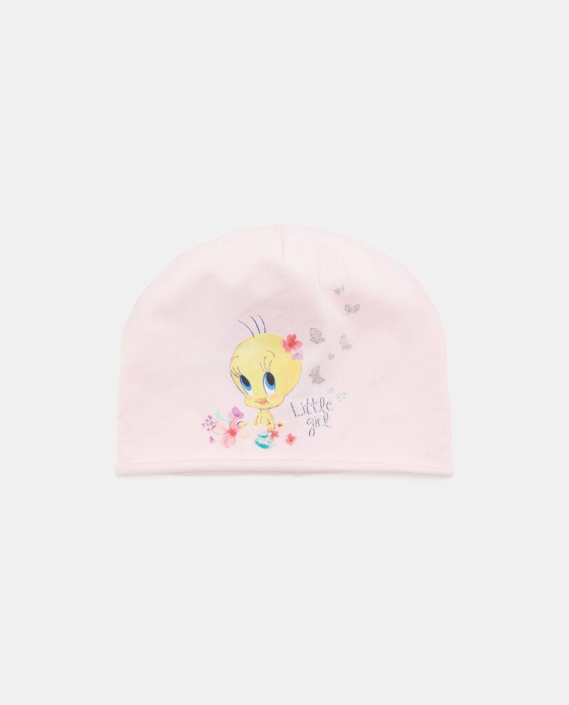 Cappellino con stampa Titti neonata