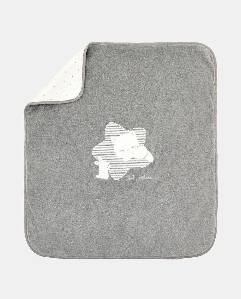 Coperta di cotone organico in ciniglia cover