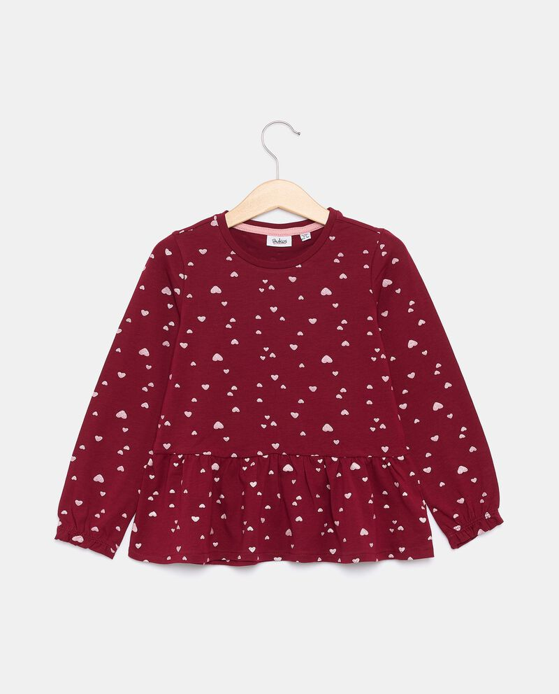 T-shirt in jersey stretch di cotone organico bambina cover