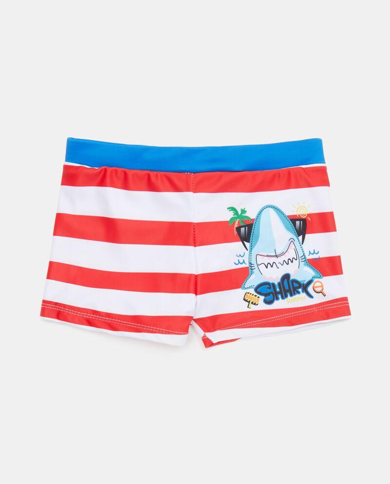 Shorts mare con motivo a righe neonato