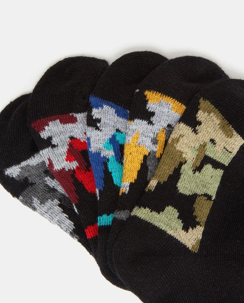 Set calzini con fascia militare bambino