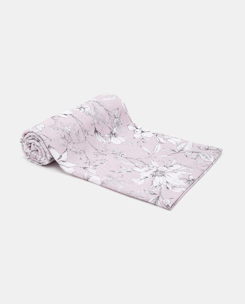 Asciugamano in fantasia floreale puro cotone