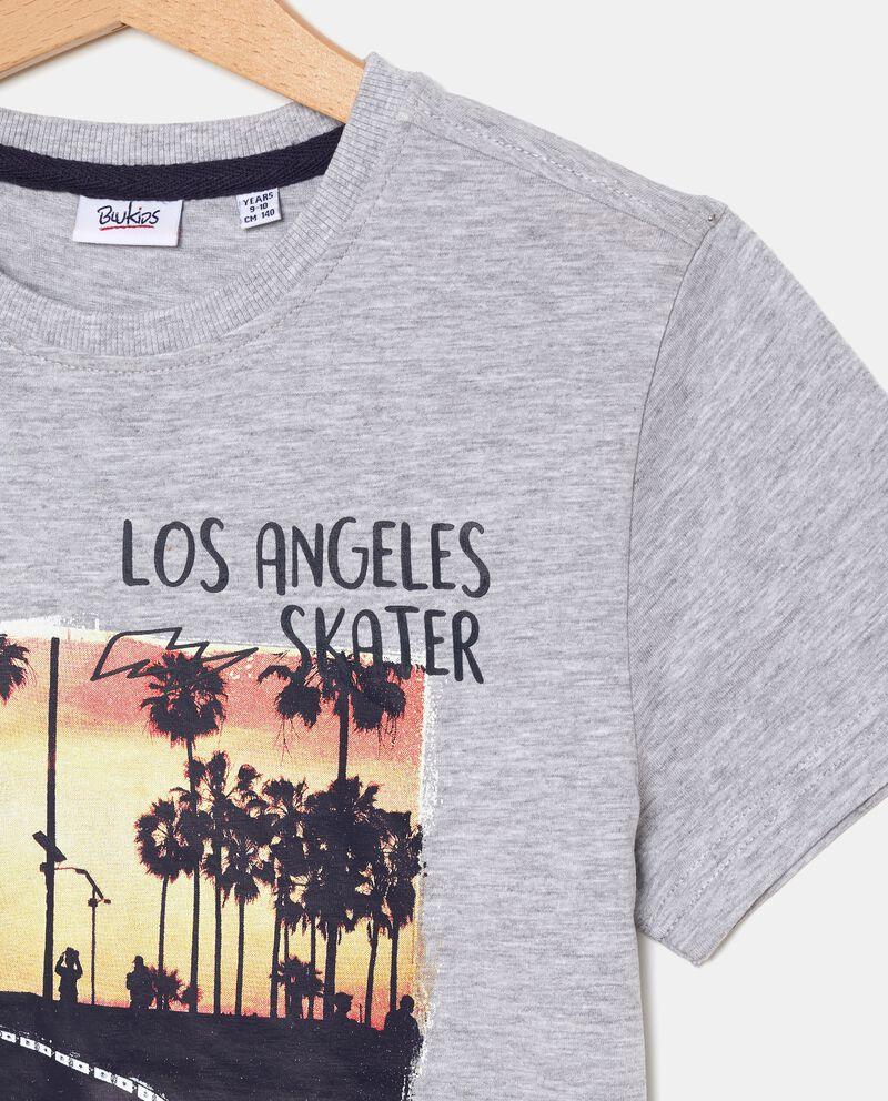 T-shirt con stampa Los Angeles ragazzo