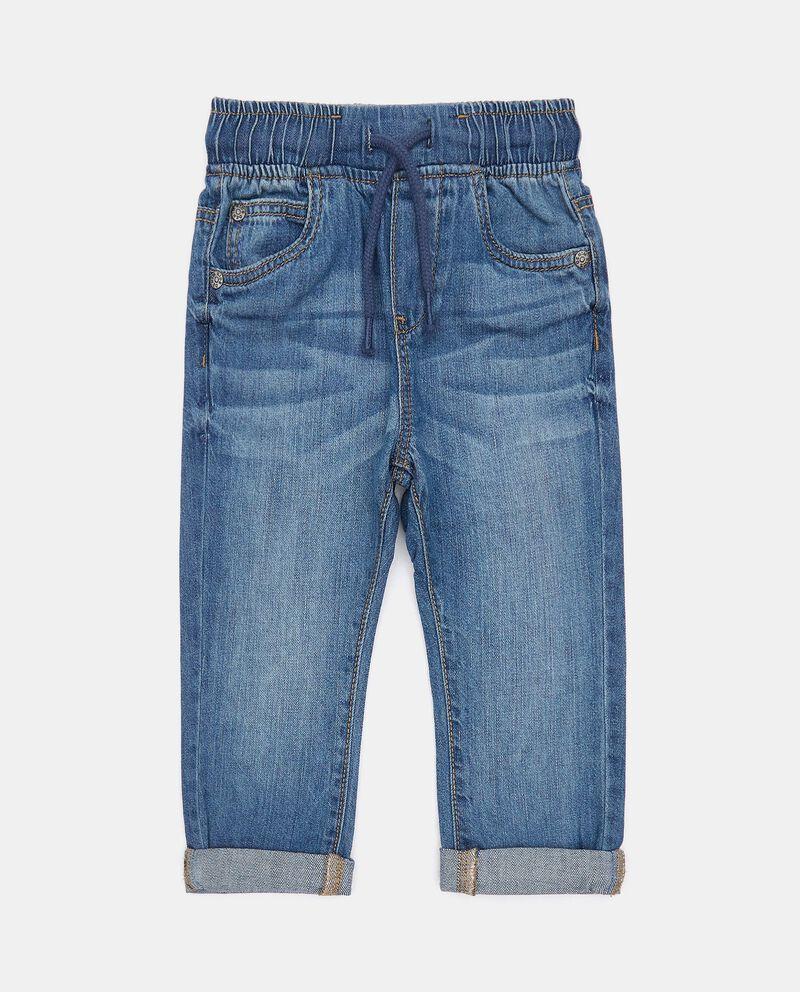 Pantaloni denim neonatodouble bordered 0