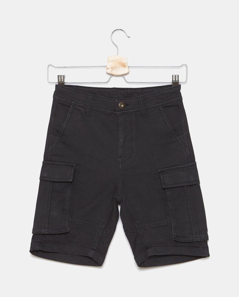Shorts in felpa cargo ragazzo cover