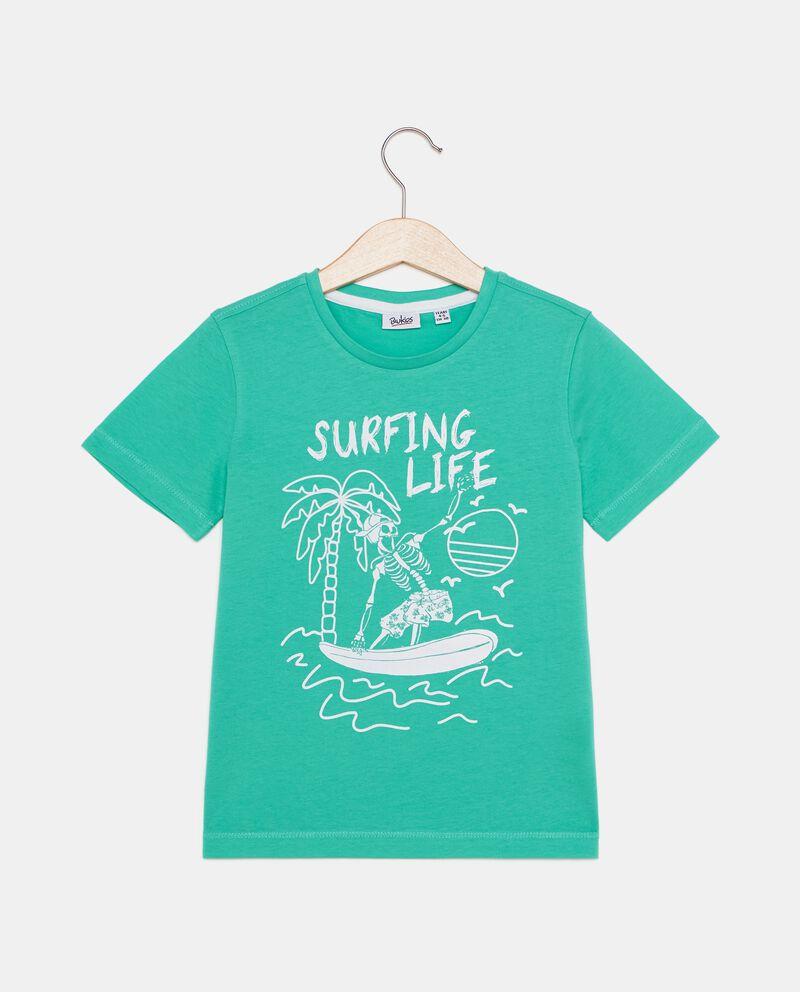 T-shirt in puro cotone stampata bambino