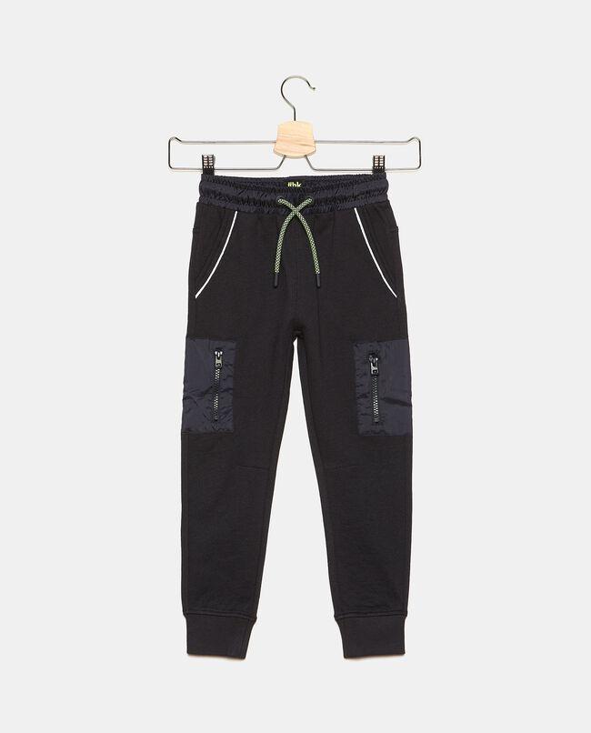 Pantaloni con tasche in cotone bambino