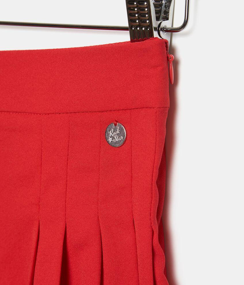 Shorts in tinta unita ragazza double 2