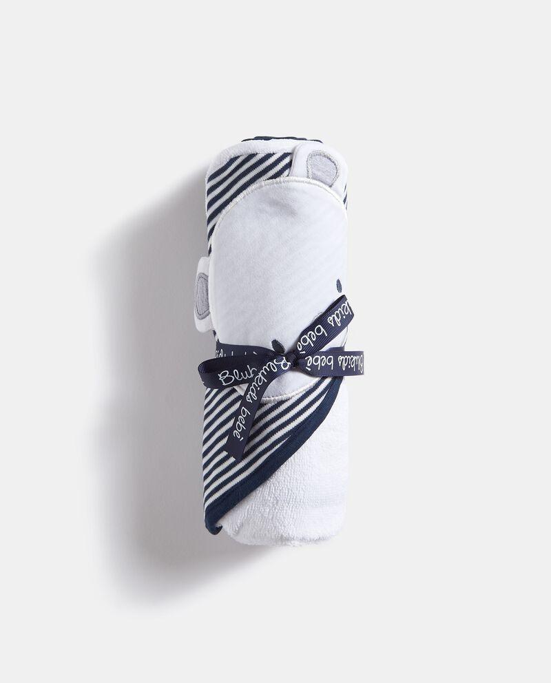 Asciugamano in puro cotone con cappuccio