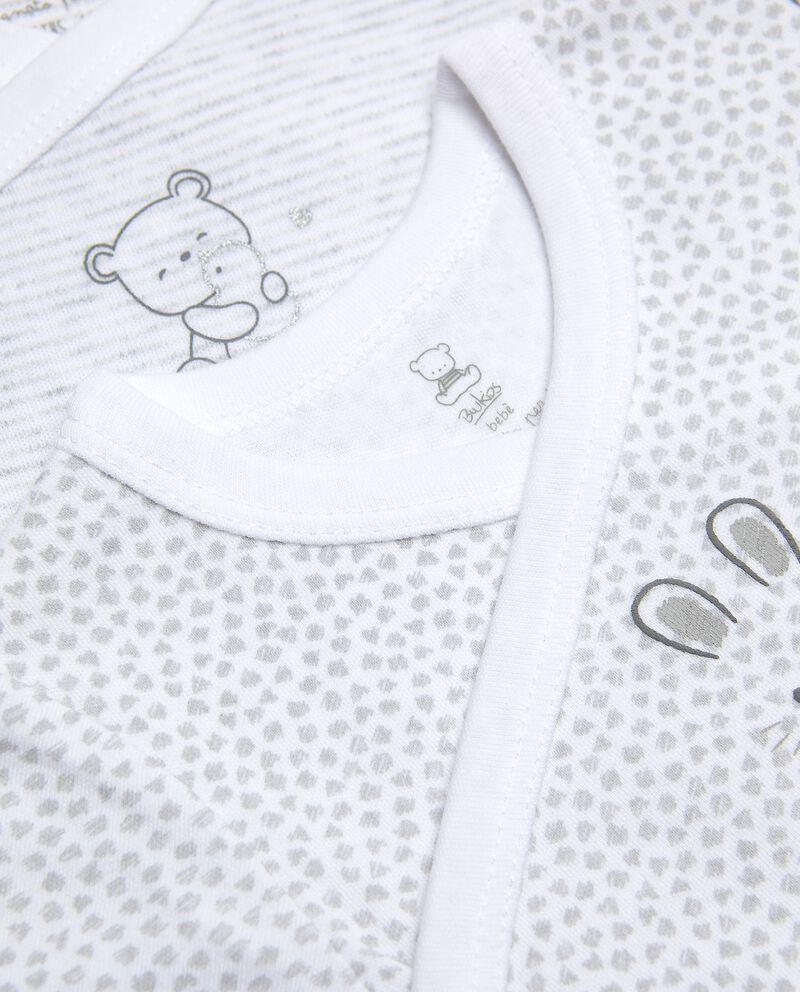 Bipack body puro cotone