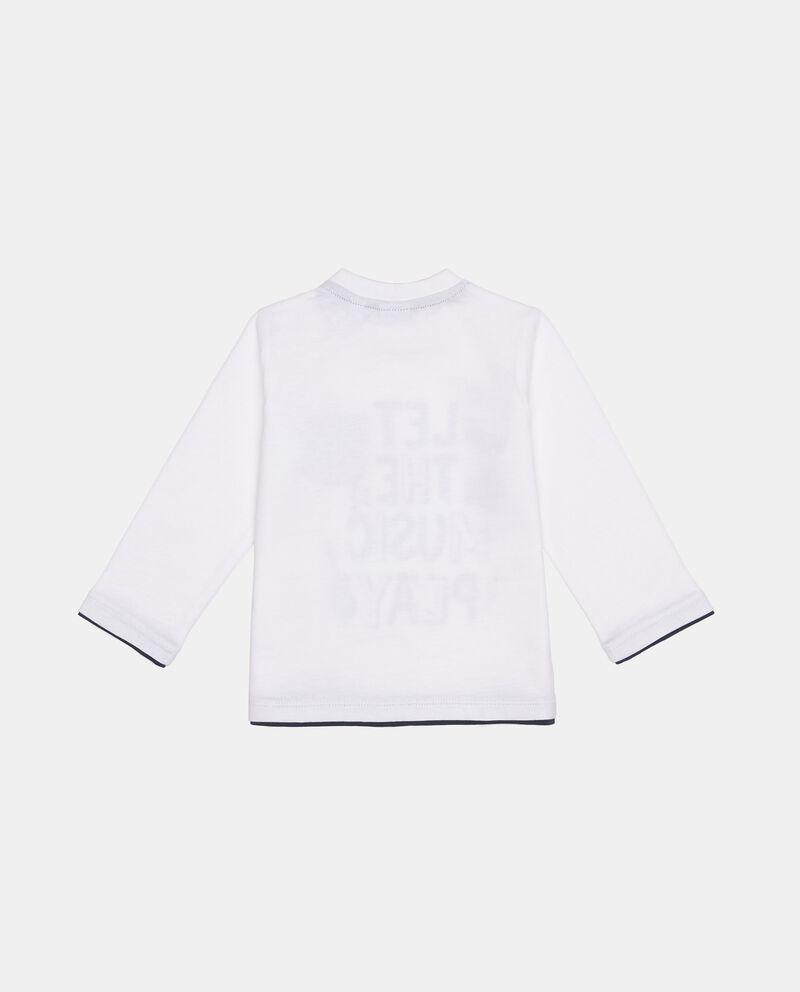 T-Shirt maniche lunghe con taschino