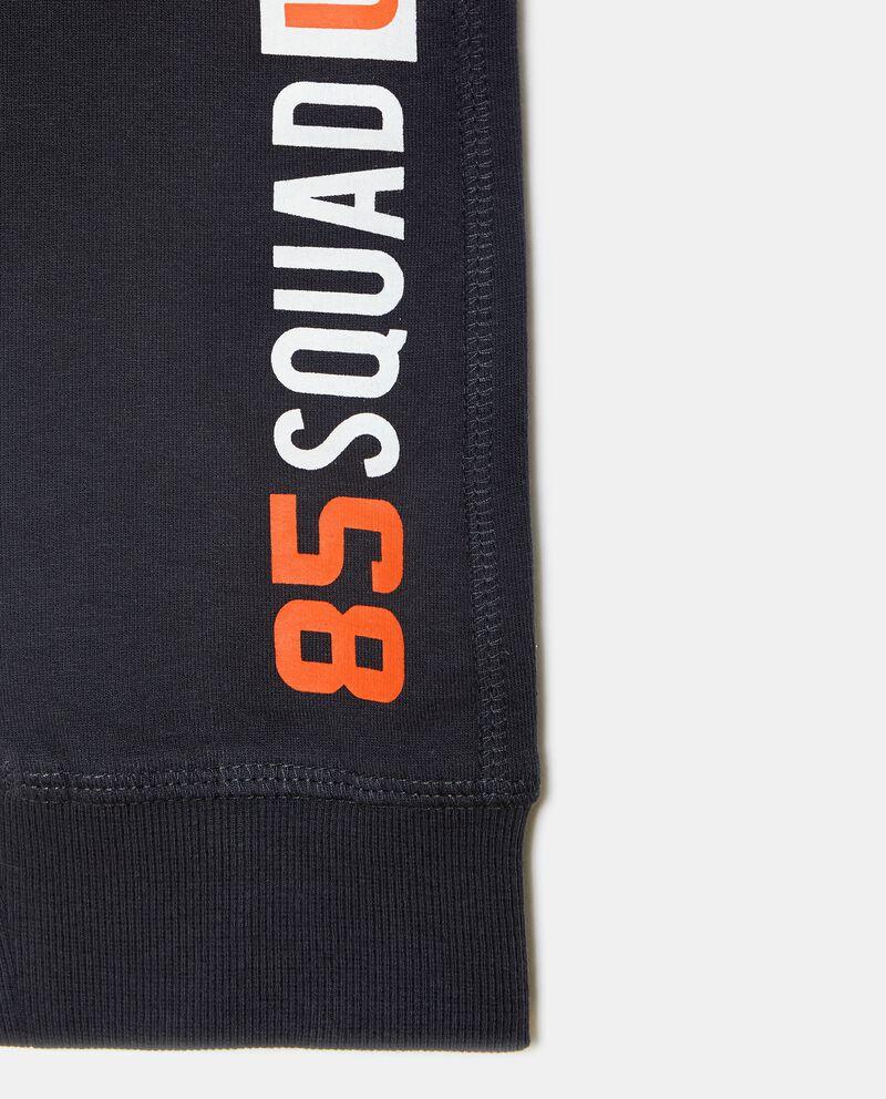 Pantaloni con lettering laterale ragazzo