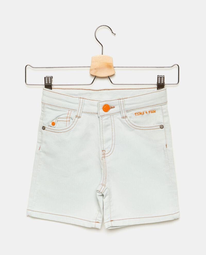 Pantaloni con dettagli a contrasto sul fronte bambino cover