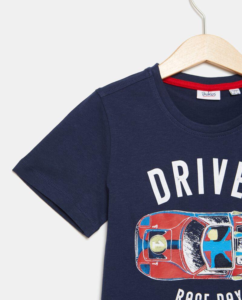 T-shirt puro cotone girocollo bambino