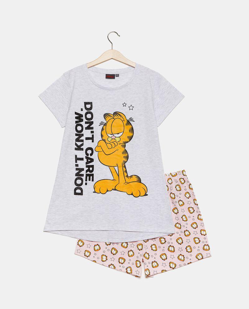 Set pigiama in puro cotone con stampa bambina