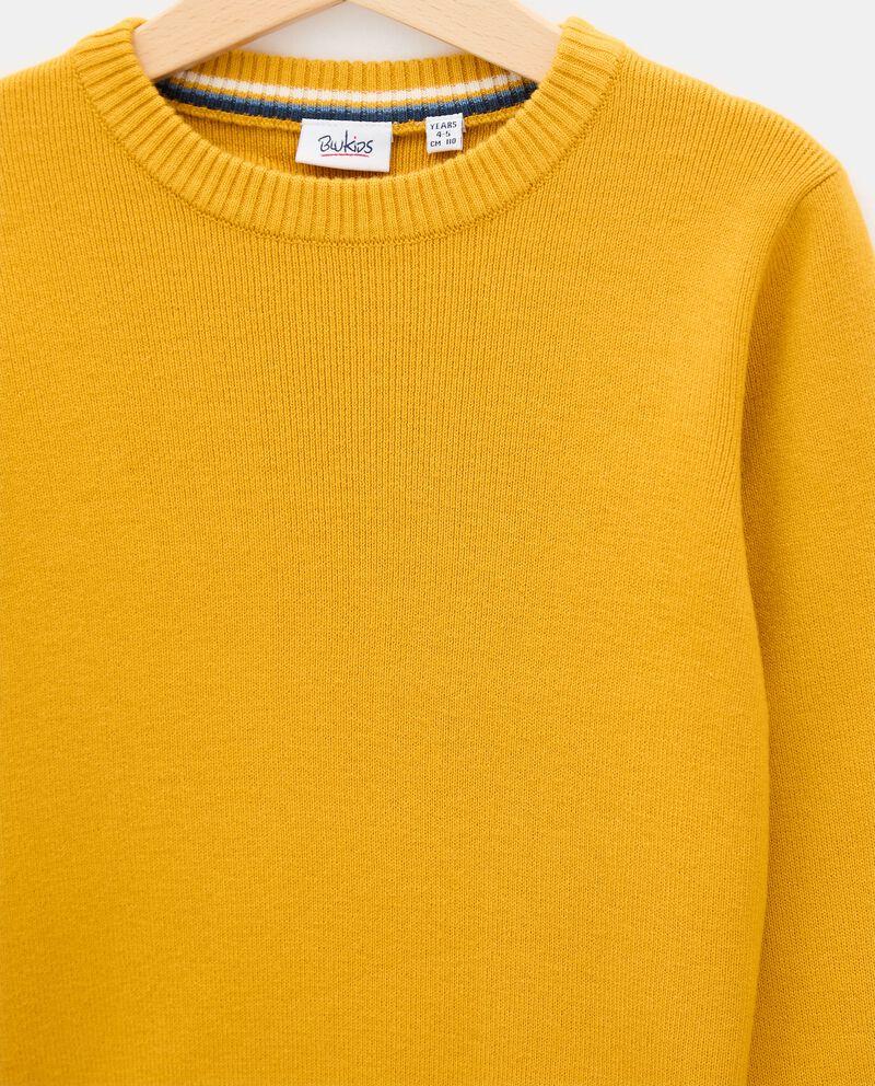 Girocollo di tricot di cotone bambino single tile 1