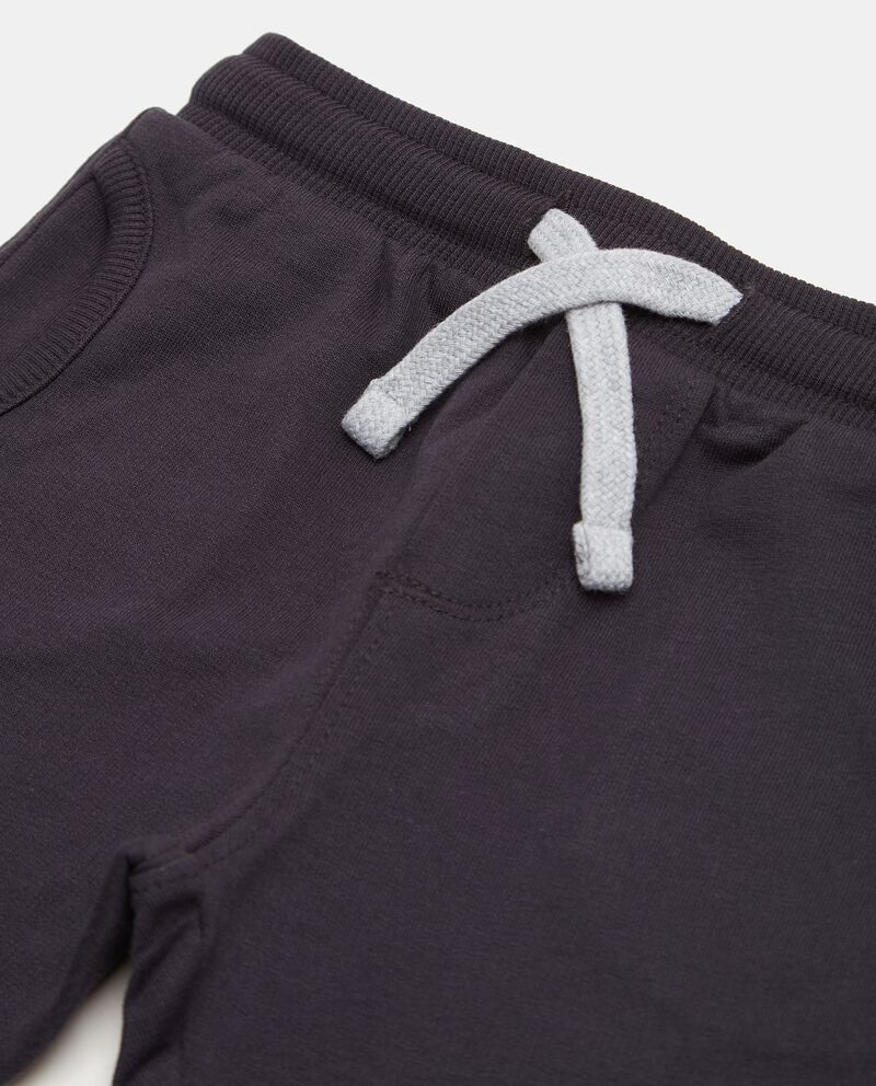 Pantaloni con tasche in puro cotone biologico neonato