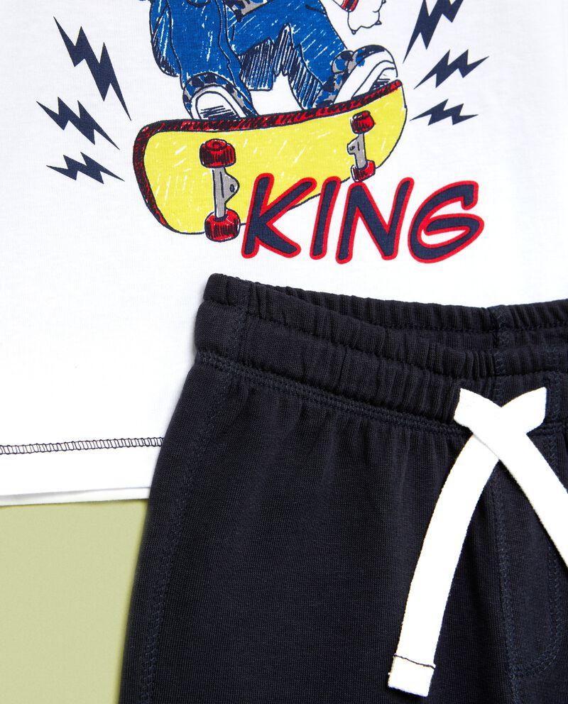 Set jogging maglia e pantalonidouble bordered 1