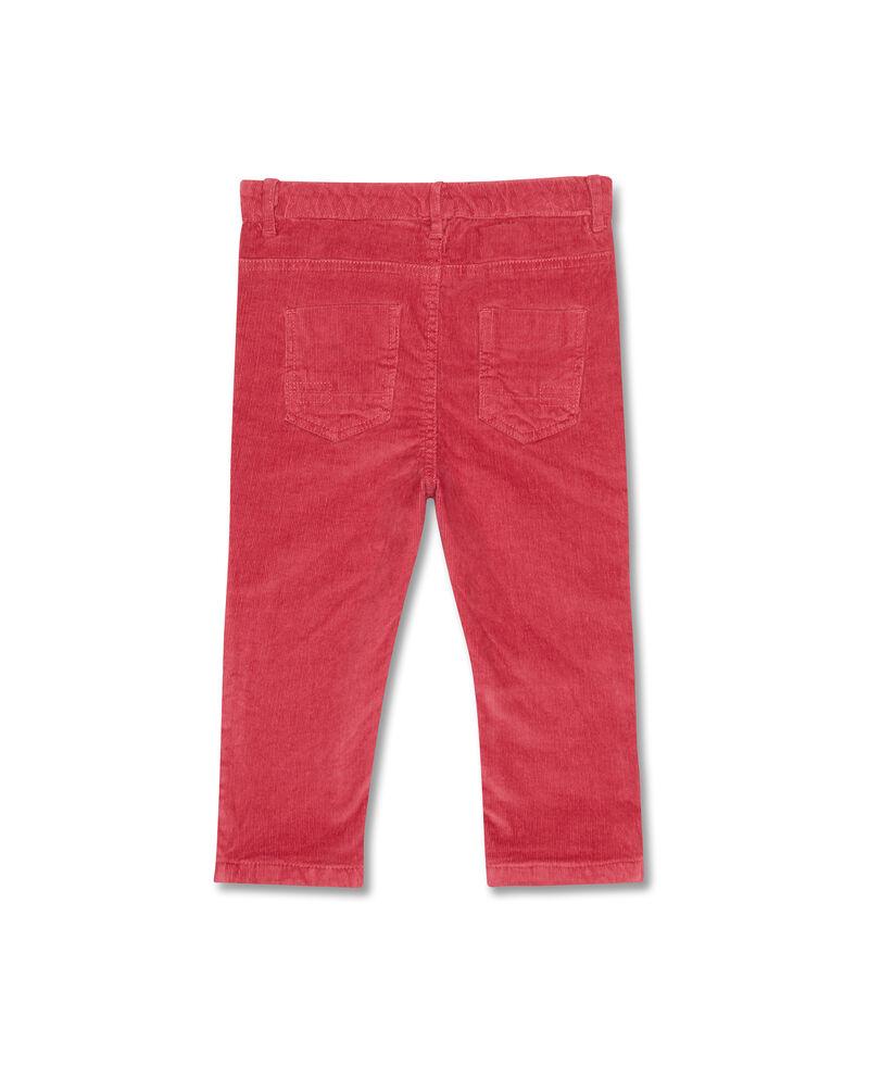 Pantaloni stretch con trama rigata