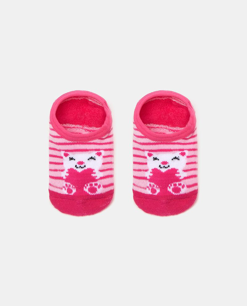 Calzini antiscivolo in cotone elasticato neonata cover