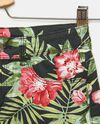 Shorts con fantasia floreale