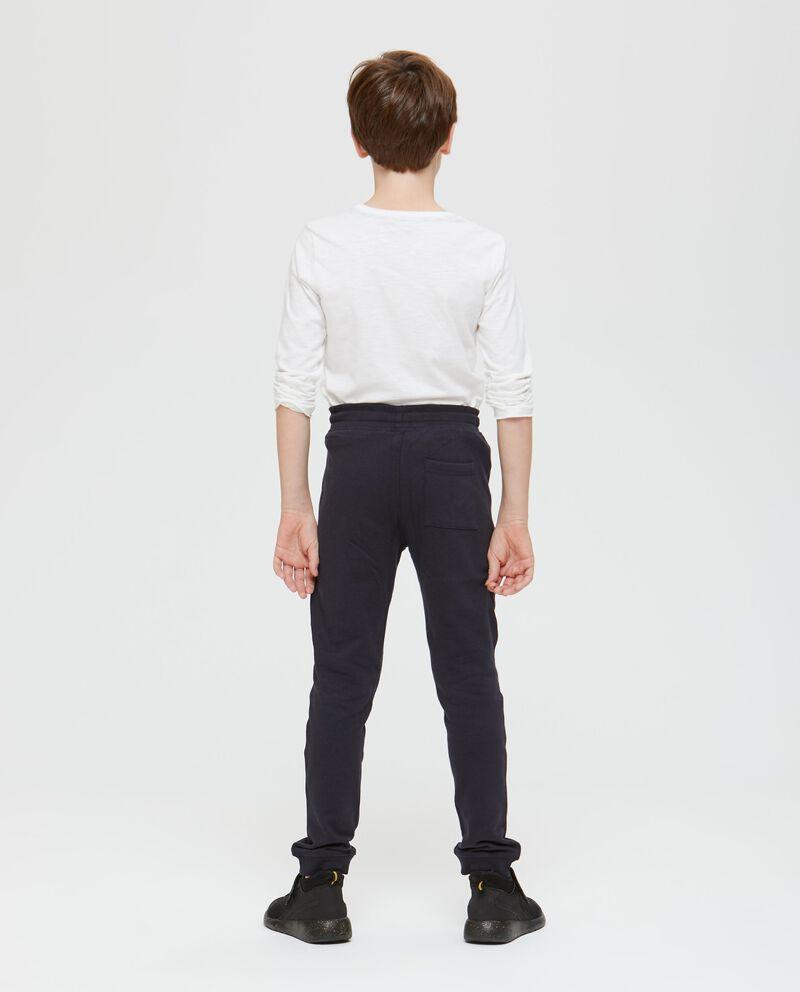 Pantaloni puro cotone con stampa