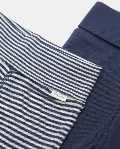 Set di pantaloni in puro cotone