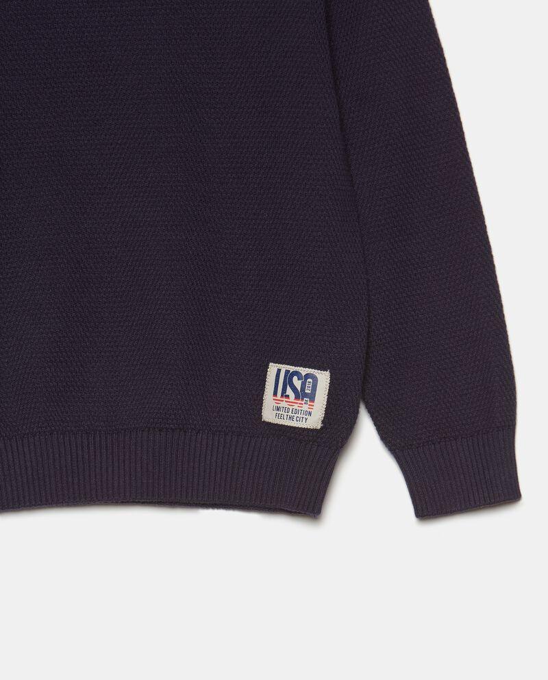 Girocollo in tricot di cotone bambino single tile 1