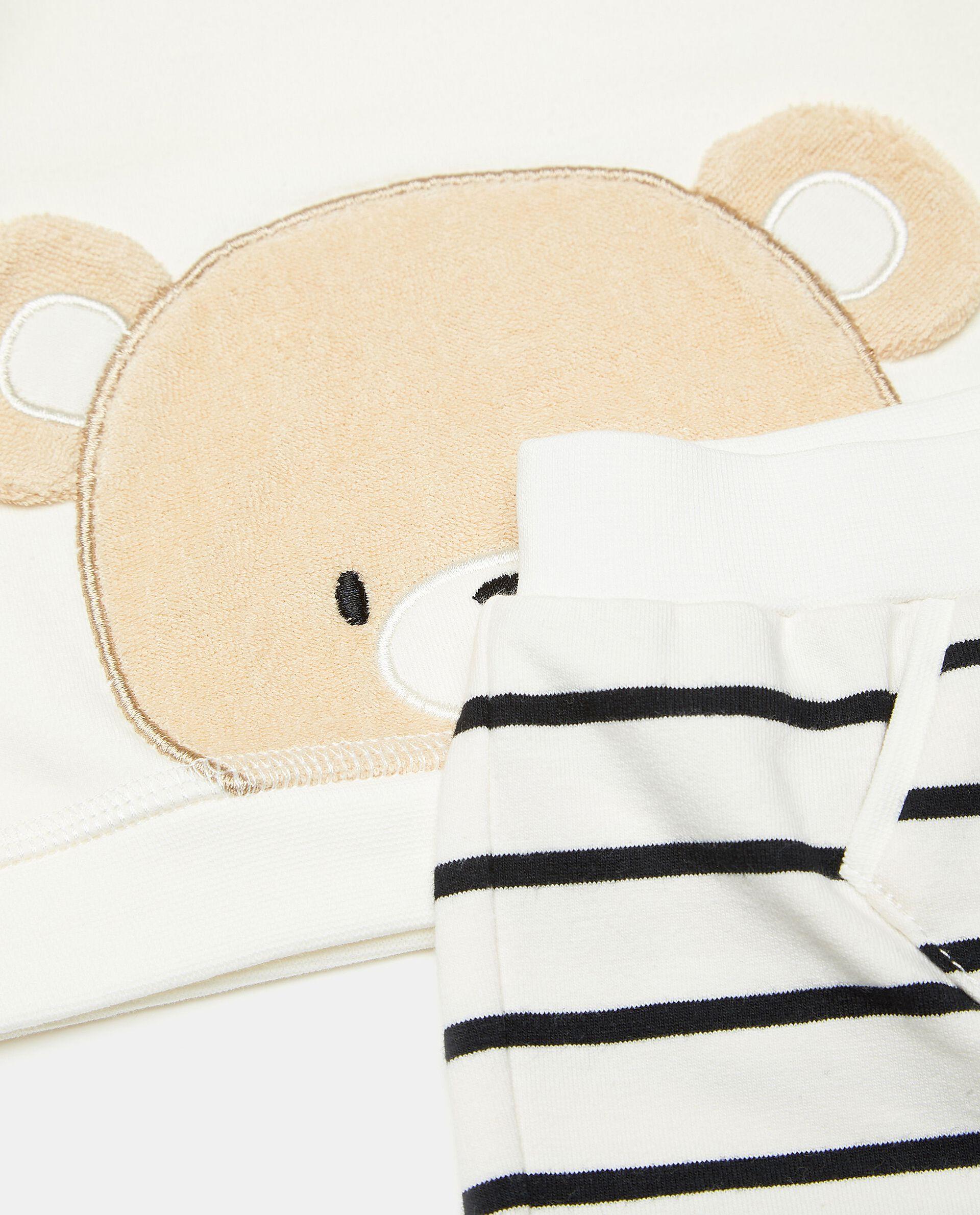 Completino maglia e pantaloni neonato