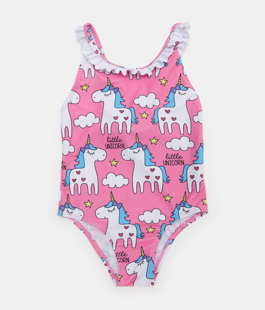 Costume intero con fantasia unicorni neonata