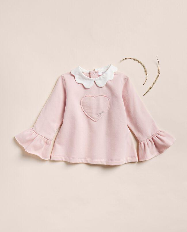 Maglia di cotone stretch con colletto IANA Made in Italy carousel 0